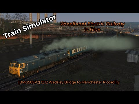 [BMG50SP2] 1Z12 Wadsley Bridge to Manchester Piccadilly