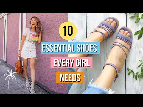Video: 10 Best Shoes EVERY Girl Needs! 👡 My Shoe Collection