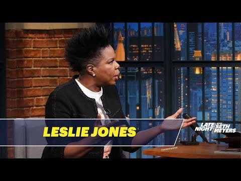 connectYoutube - Leslie Jones Almost Vomited on SNL