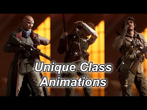 BFV   Unique Elite Class Animations   XFPS