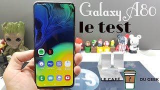 Vidéo-Test : Samsung Galaxy A80 le test du mariage entre un Find X et un Zenfone 6