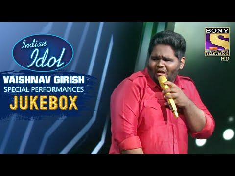Vaishnav Girish Special Performances | Jukebox | Indian Idol Season 12