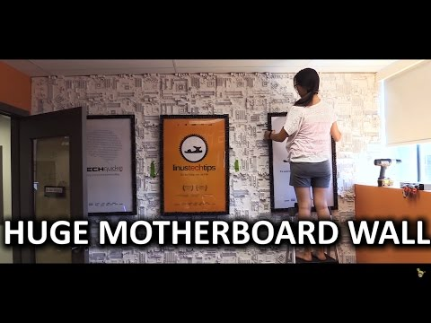 Extreme Tech Office Makeover - LMG Decorates Linus' Office Pt. 1