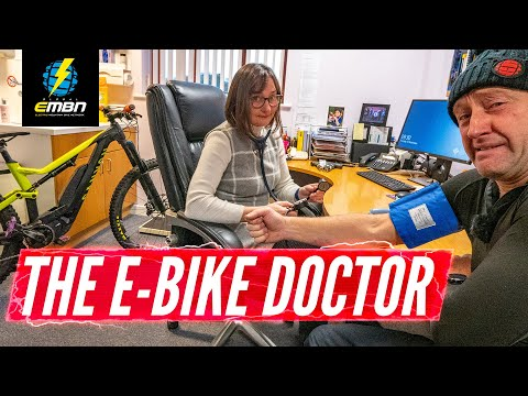 Making The Rounds With The E-Bike Doctor | E-MTBs In The Workplace