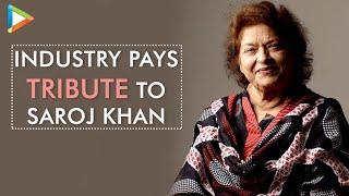 """Saroj Khan was Magic"" - SRK, Akshay Kumar, Madhuri & other industry people pay an emotional tribute - HUNGAMA"