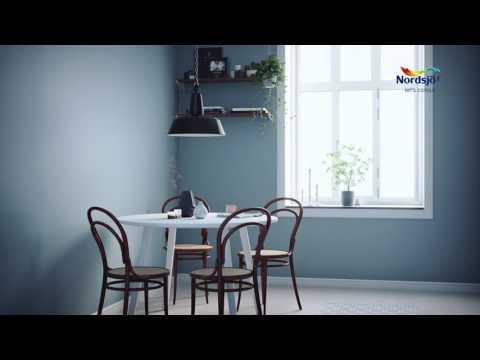 Riktig maling på rett plass :: Kjøkken