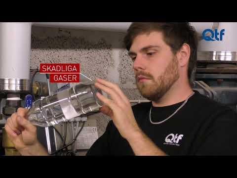 QTF kontrollerar gaser i systemvätska