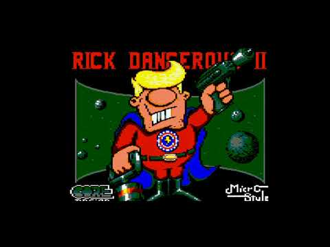 Rick Dangerous II - Amstrad CPC6128 Longplay