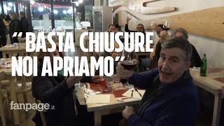 Anche a Roma ristoratori violano le regole e aprono a cena: