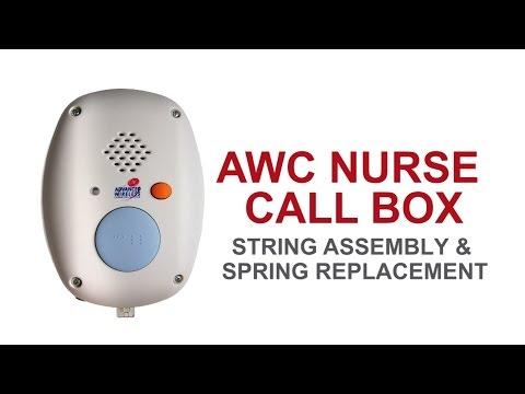 Nurse Call Box Basic Maintenance: String Assembly