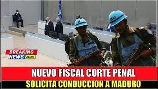 Nuevo Fiscal SORPRENDE a MADURO con orden de CONDUCCION a la CORTE PENAL