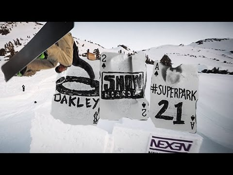 Oakley x SNOWBOARDER Superpark 21 (Follow-Cam Mini Movie)