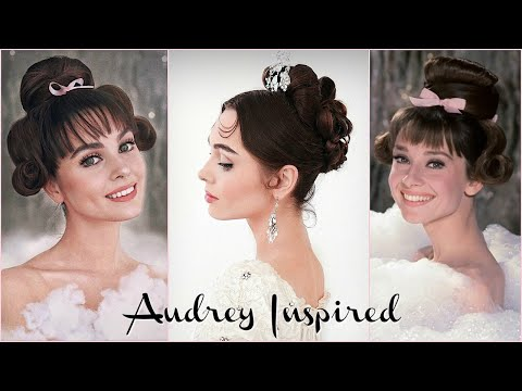 Recreating ICONIC Audrey Hepburn Hairstyles | Jackie Wyers