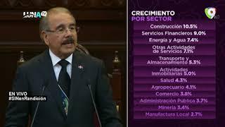 Discurso Danilo Medina rendición de cuentas 2020 PARTE 1