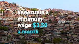 Venezuela increases minimum wage, it's $3.50 a month