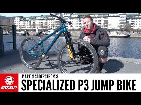 Martin Soderstrom's Specialized P3 Dirt Jump Bike | GMBN Pro Bikes
