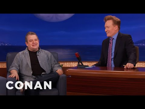 connectYoutube - Patton Oswalt Almost Didn't Make It Here  - CONAN on TBS