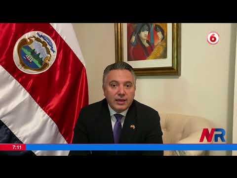 Presidente Alvarado pide un préstamo de vacunas contra Covid 19 a EE.UU.