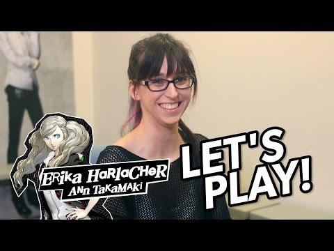 Let's Play Persona 5 With Ann Takamaki's VA Erika Harlacher!