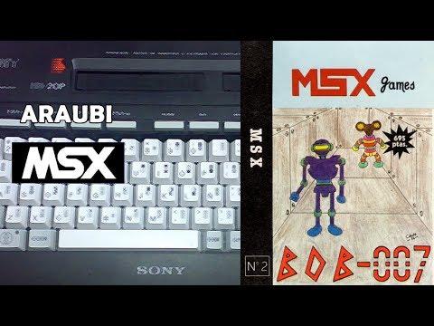 Bob 007 (GTS, 1986) MSX [731] Walkthrough Comentado