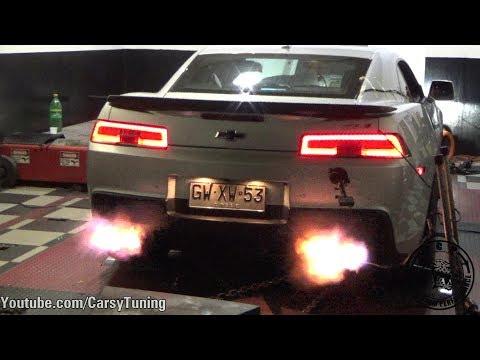 570 WHP 2015 Chevrolet Camaro ZL1 Dyno Run