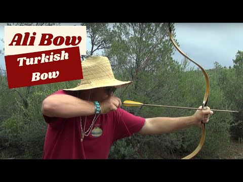 Ali Bow Nomad Warrior and Turkish Bow, Review and Field Test