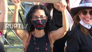 Israel: Thousands gather in Tel Aviv to protest domestic violence