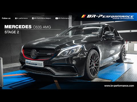 Mercedes C63S AMG / Stage 2 By BR-Performance / Supersprint Decat