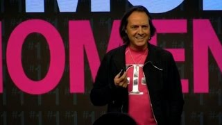 With one word, T-Mobile CEO John Legere slams his competition