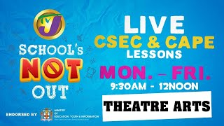 CSEC Theatre Arts Lessons: Topic Caribbean Cultural Forms - June 4 2020
