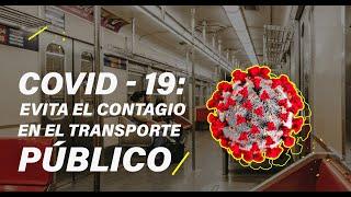 5 consejos para evitar contagios en el transporte público
