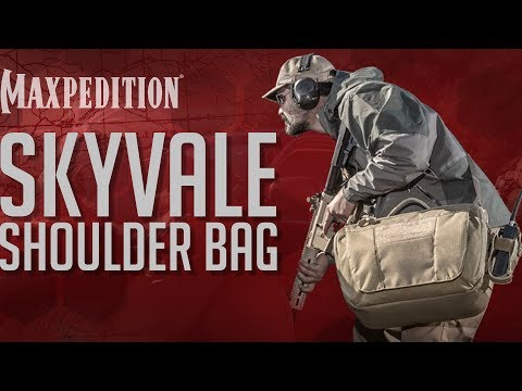 MAXPEDITION Advanced Gear Research SKYVALE Tech Messenger Bag