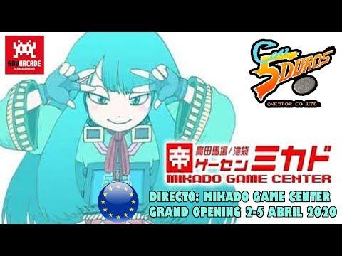 DIRECTO: MIKADO GAME CENTER EUROPE GRAND OPENING (2-5 APRIL 2020)
