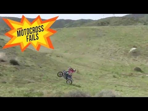 Motocross Fails : Jump gone wrong - Motocross Action Magazine