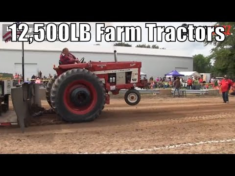 12500 Farm Tractor Class From WMP At Kent City MI 2018