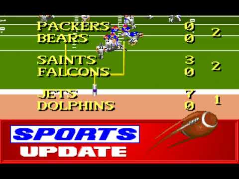 NFL Football (Week 5: Raiders - Bills) (Distinctive Software) (MS-DOS) [1992] [PC Longplay]