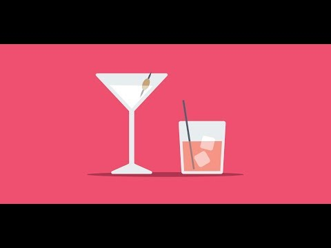 Cheers! Create Flat Style Cocktail Glasses in Adobe Illustrator