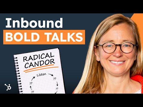 """INBOUND 2016 Bold Talks: Kim Scott """"Radical Candor"""""""