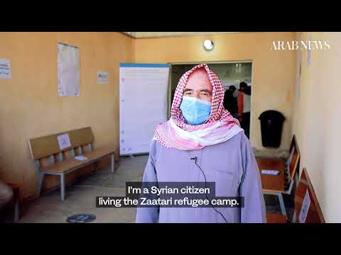 Tears, relief, and gratitude as Jordan vaccinates Syrian refugees