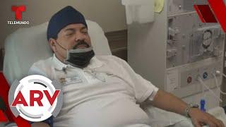 Julio Preciado tuvo complicaciones durante el trasplante de riñón   Al Rojo Vivo   Telemundo