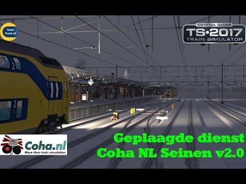 Geplaagde dienst   Coha NL Seinen v2.0   NS Virm   Train Simulator 2017