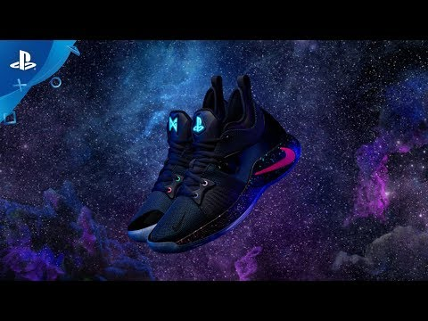 new style 5f578 b460f Nike PG-2 PlayStation Colorway   Announce Video