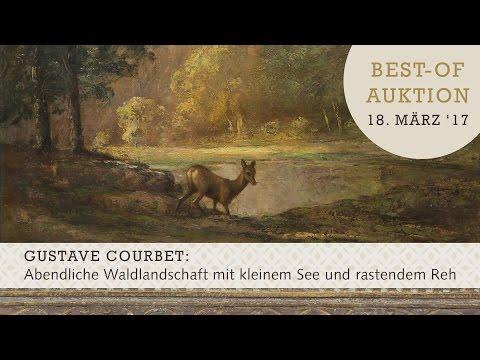 BEST-OF-AUKTIONEN im März 2017 - Highlight: Gemälde von Gustave Courbet