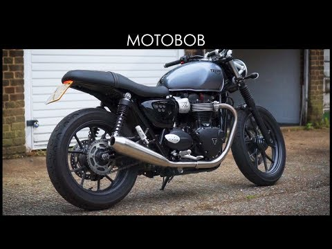 Triumph Street Twin Tail Tidy / Fender Eliminator by NRC Review