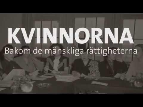 Kvinnorna bakom FN:s deklaration om de mänskliga rättigheterna