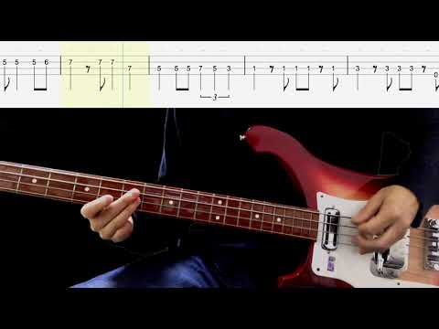 Bass TAB : Think For Yourself (Normal Bass) - The Beatles