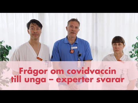 Svar på vanliga frågor kring vaccination mot covid-19 av barn och unga