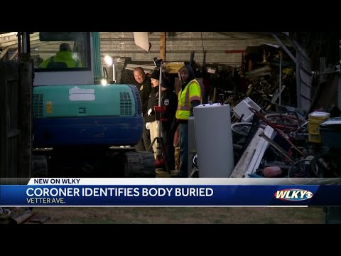 Official identify man found buried behind South Louisville home