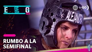 Alejandra Baigorria lloró por conmovedor aliento de Said Palao en pleno reto extremo