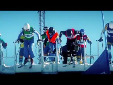 Trailer World Cup Skicross  Idre Fjäll